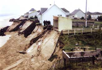 1967, une terrible tempête défigure le front de mer