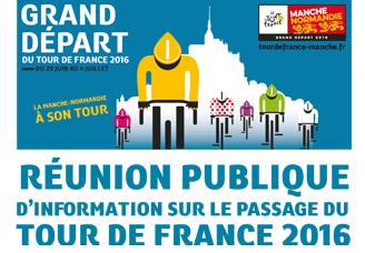 Réunion publique d'information sur le passage du Tour de France