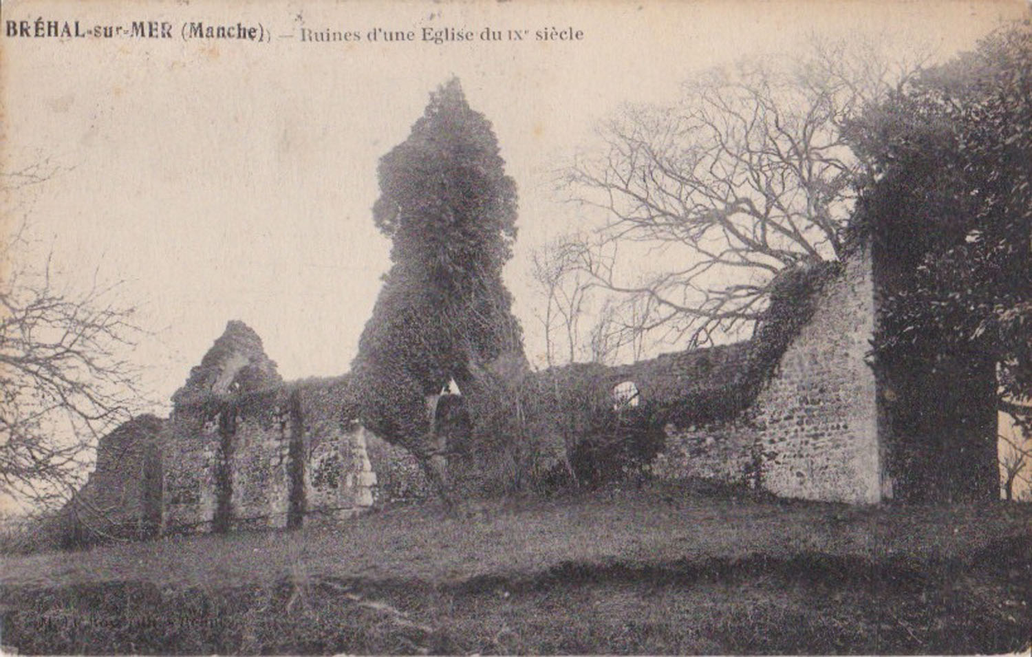 1910 Vieux St Martin Eglise 1 © collection Jean Claude Ferret