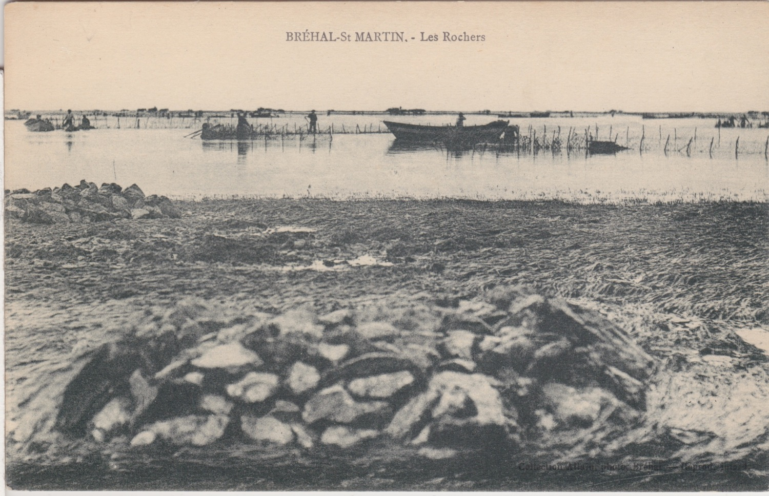1915 St Martin Littoral Rochers © collection Jean Claude Ferret