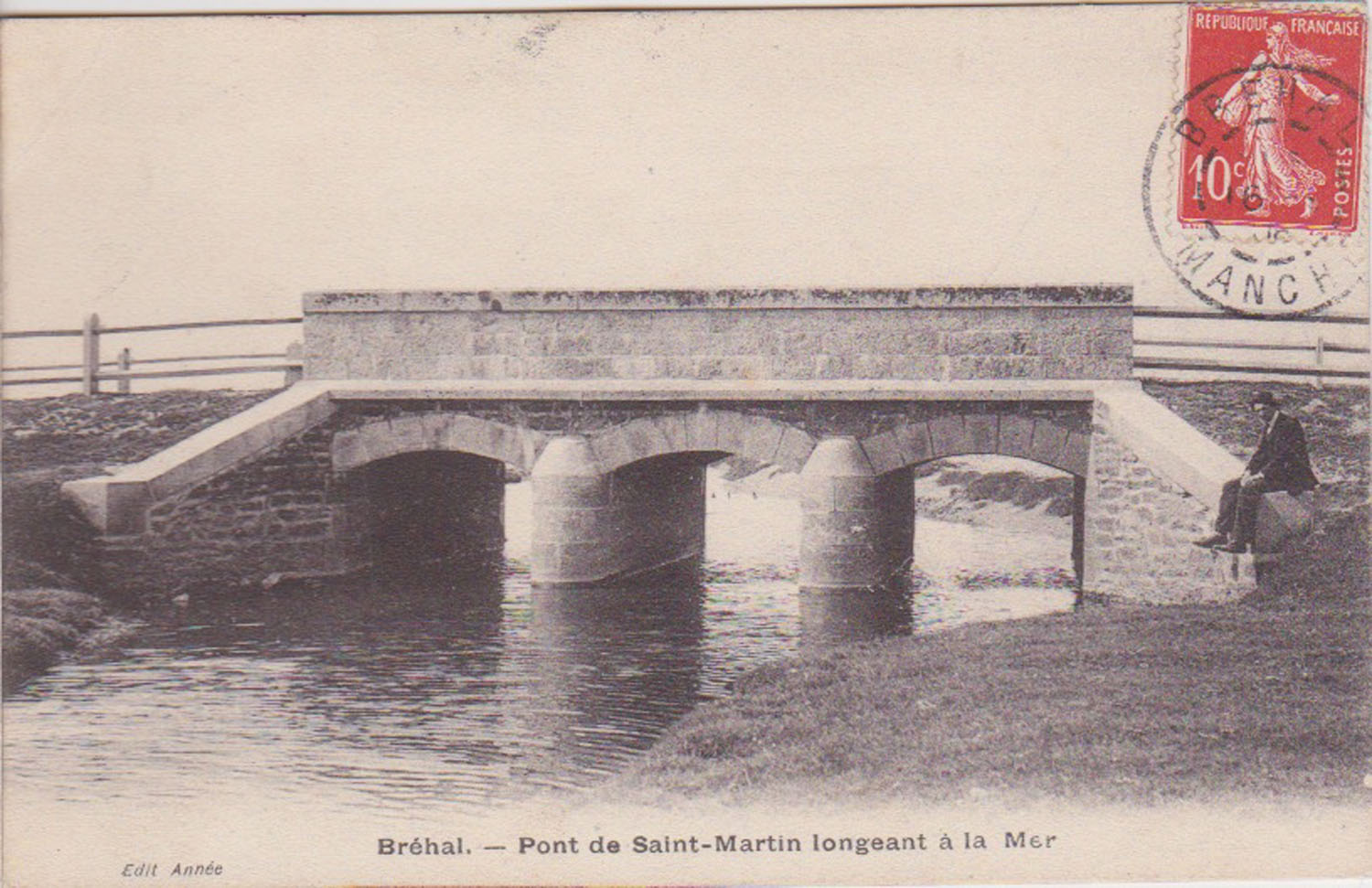 1916 St Martin Vieux Pont © collection Jean Claude Ferret