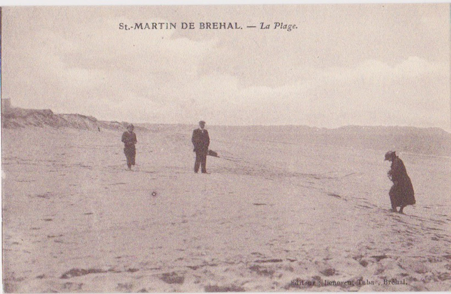1920 St Martin Littoral Bord de mer © collection Jean Claude (...)