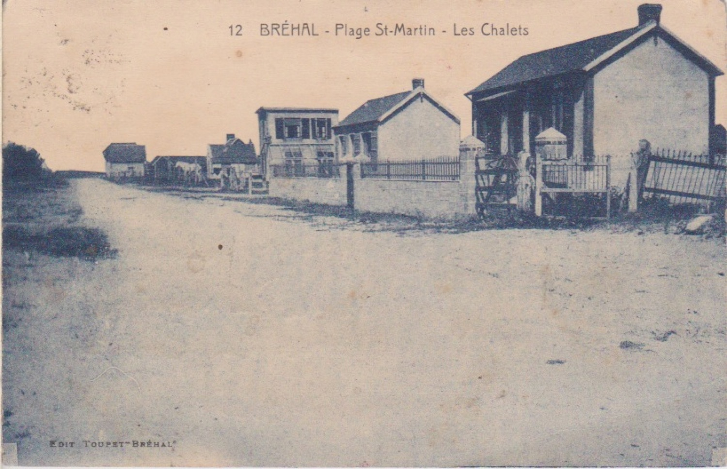 1928 St Martin Rues Avenue Bellière © collection Jean Claude Ferret