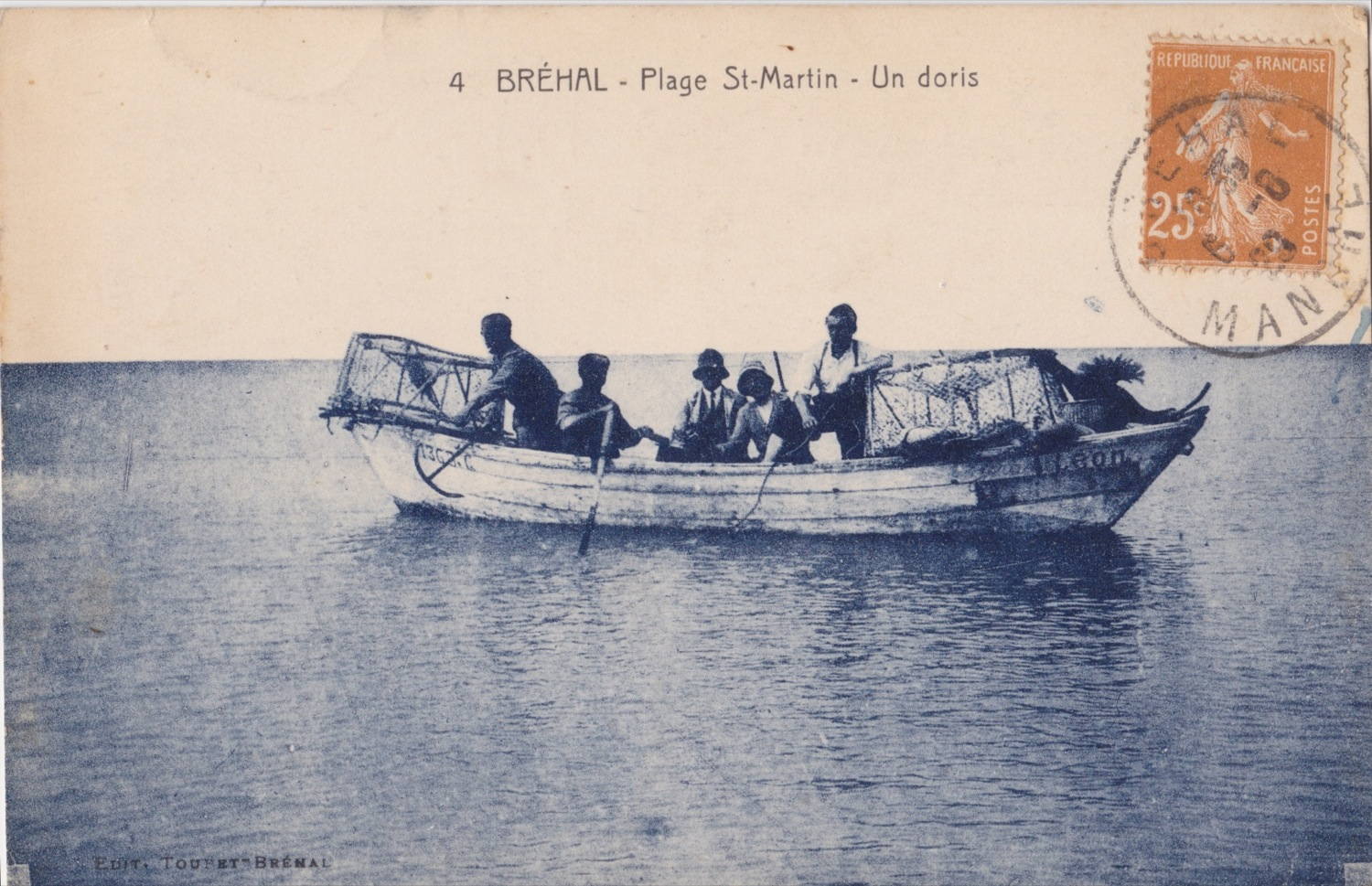 1929 St Martin Pêche Doris © collection Jean Claude Ferret