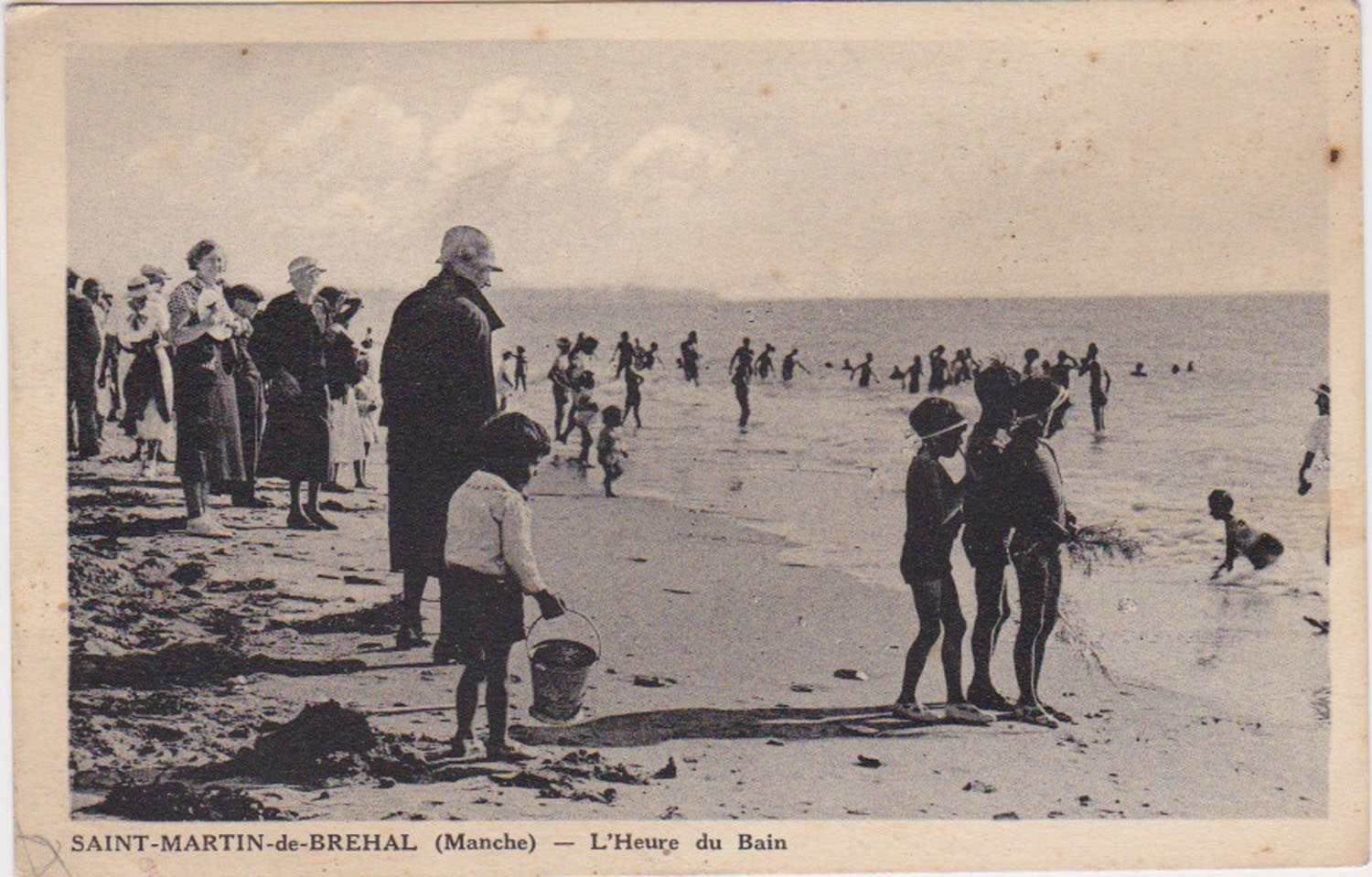 1930 St Martin Plage 1 © collection Jean Claude Ferret