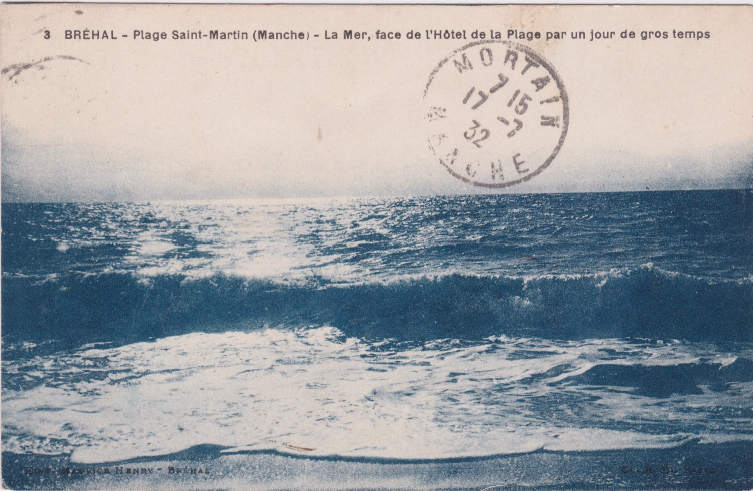 1932 St Martin Littoral Plage 1 © collection Jean Claude Ferret