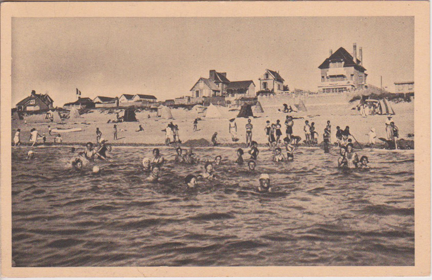 1938 St Martin Plage 1 © collection Jean Claude Ferret
