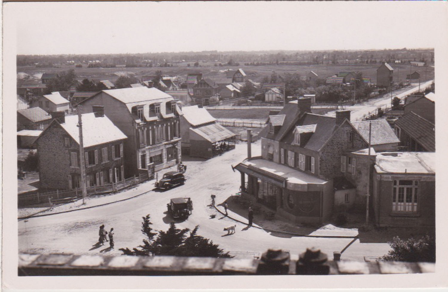 1948 St Martin Carrefour Central 4 © collection Jean Claude Ferret