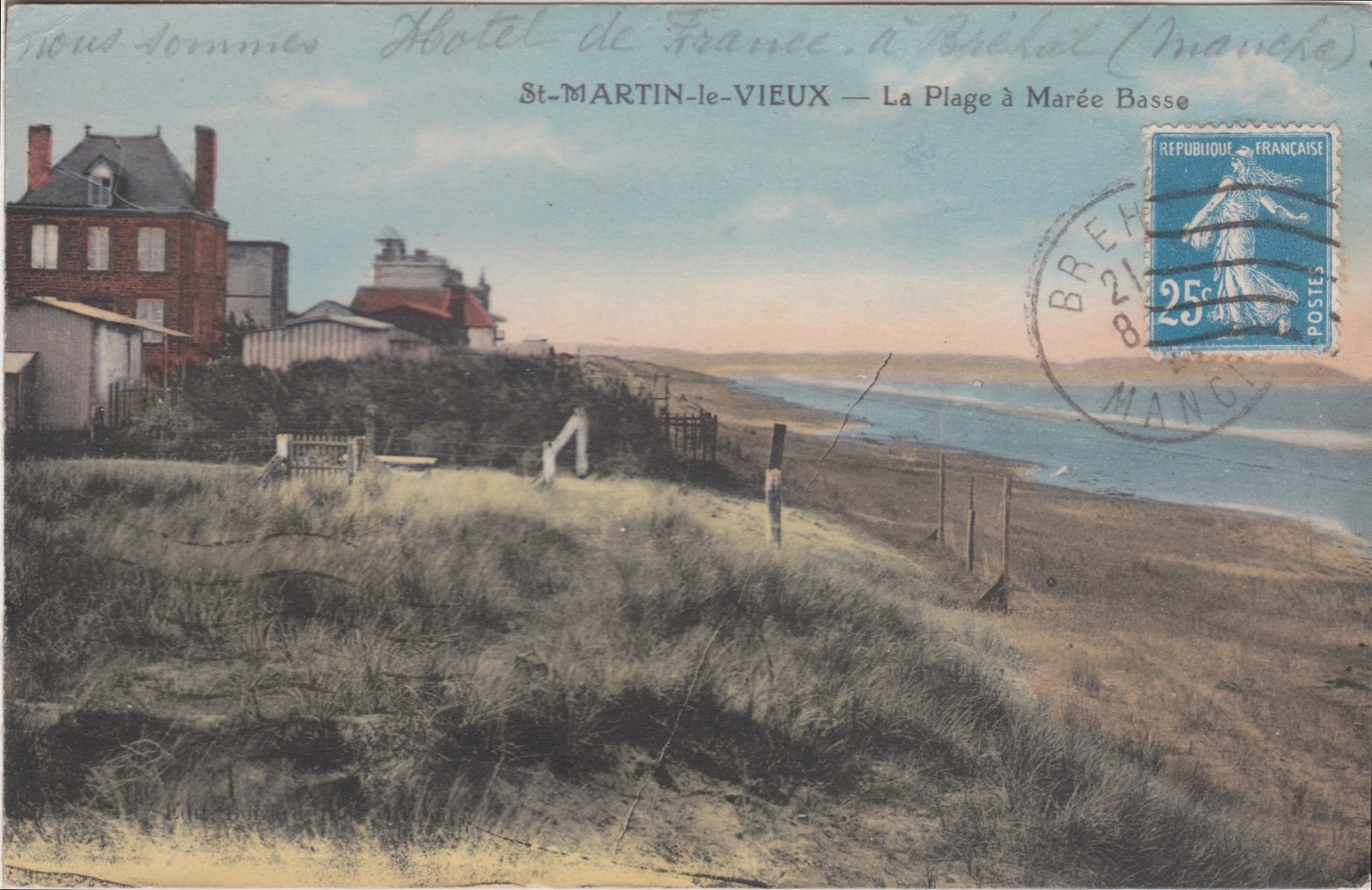 1950 St Martin Littoral Villas © collection Jean Claude Ferret
