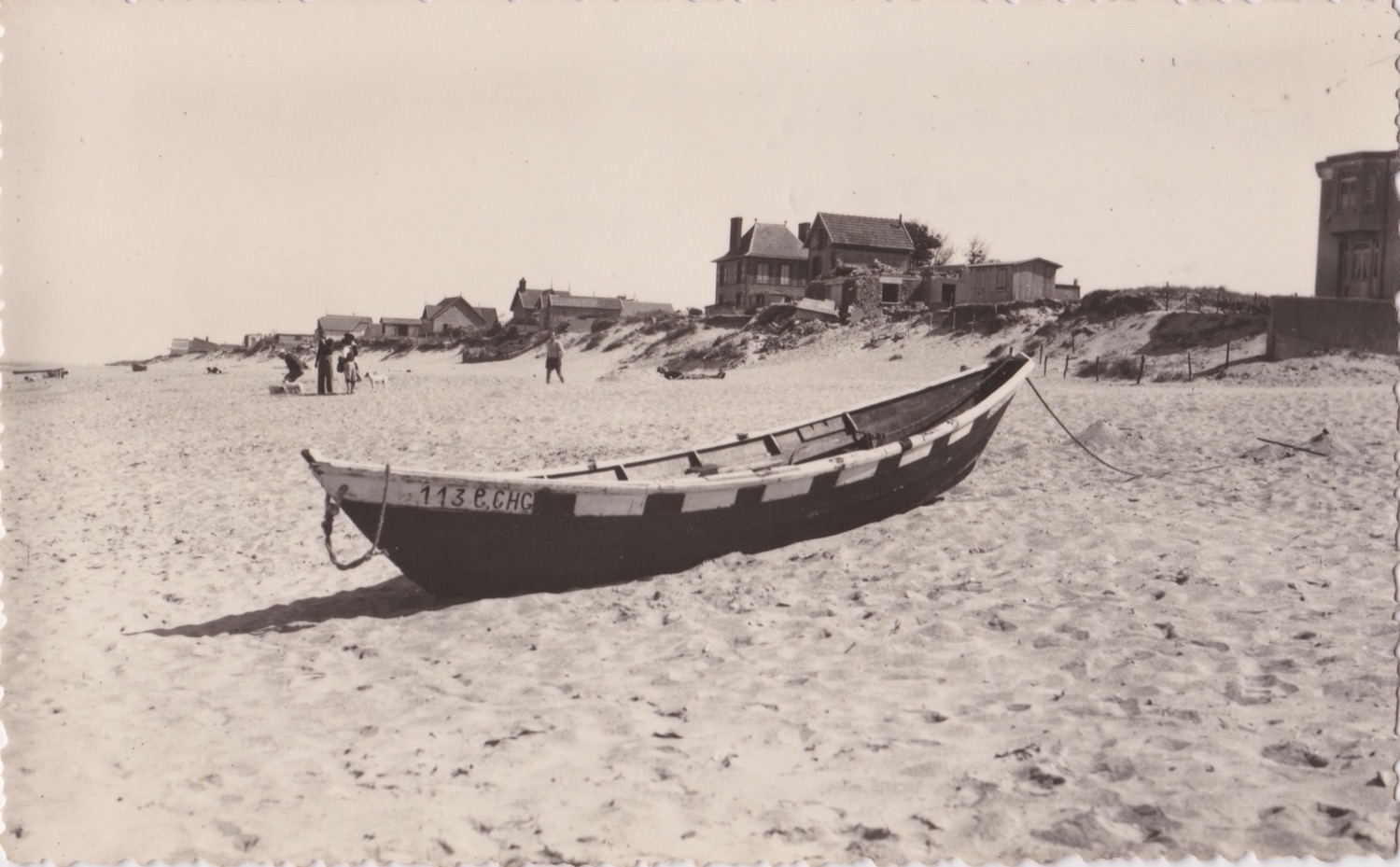 1950 St Martin Littoral Bord de mer 4 © collection Jean Claude (...)