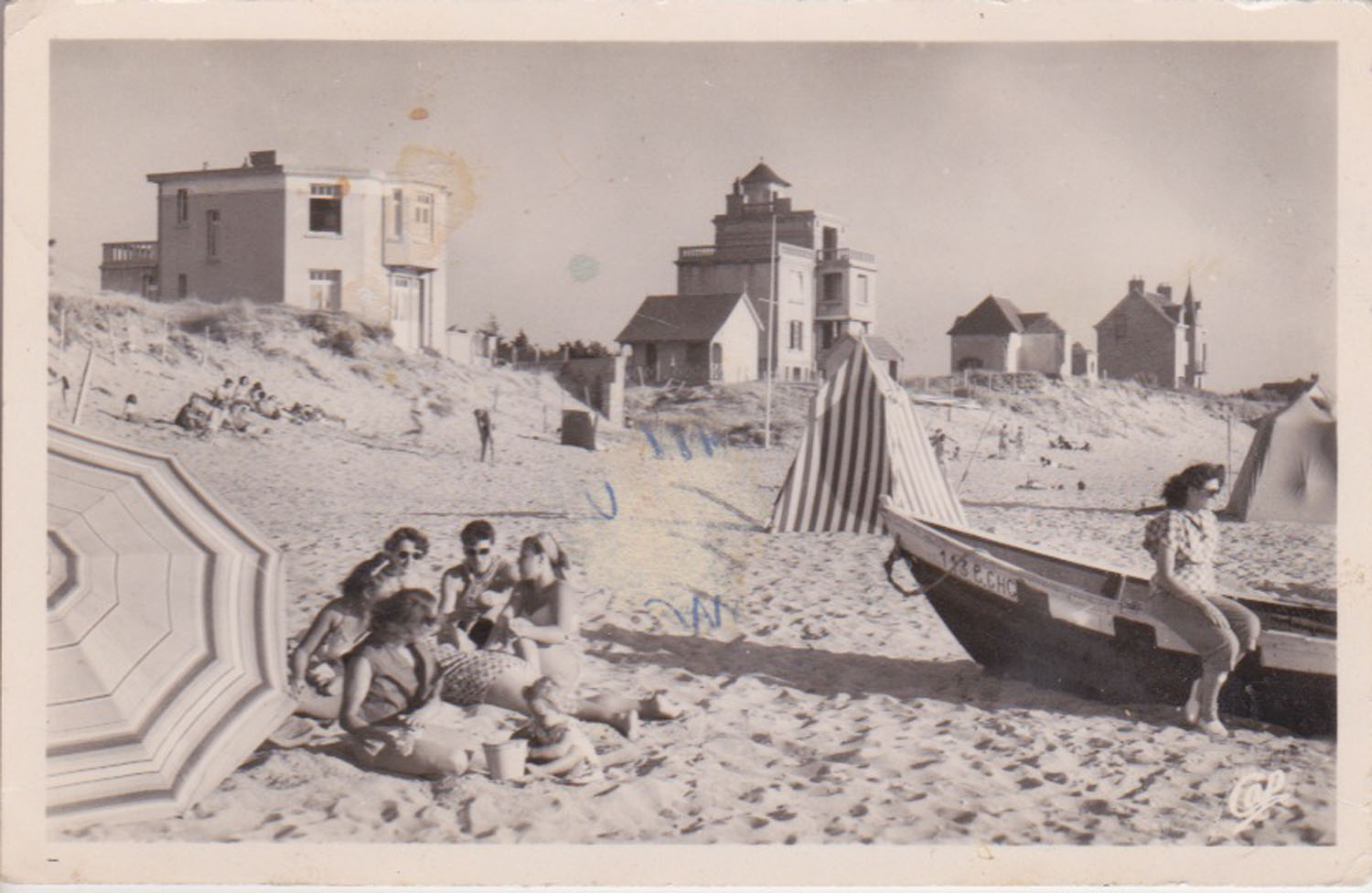 1951 St Martin Plage © collection Jean Claude Ferret