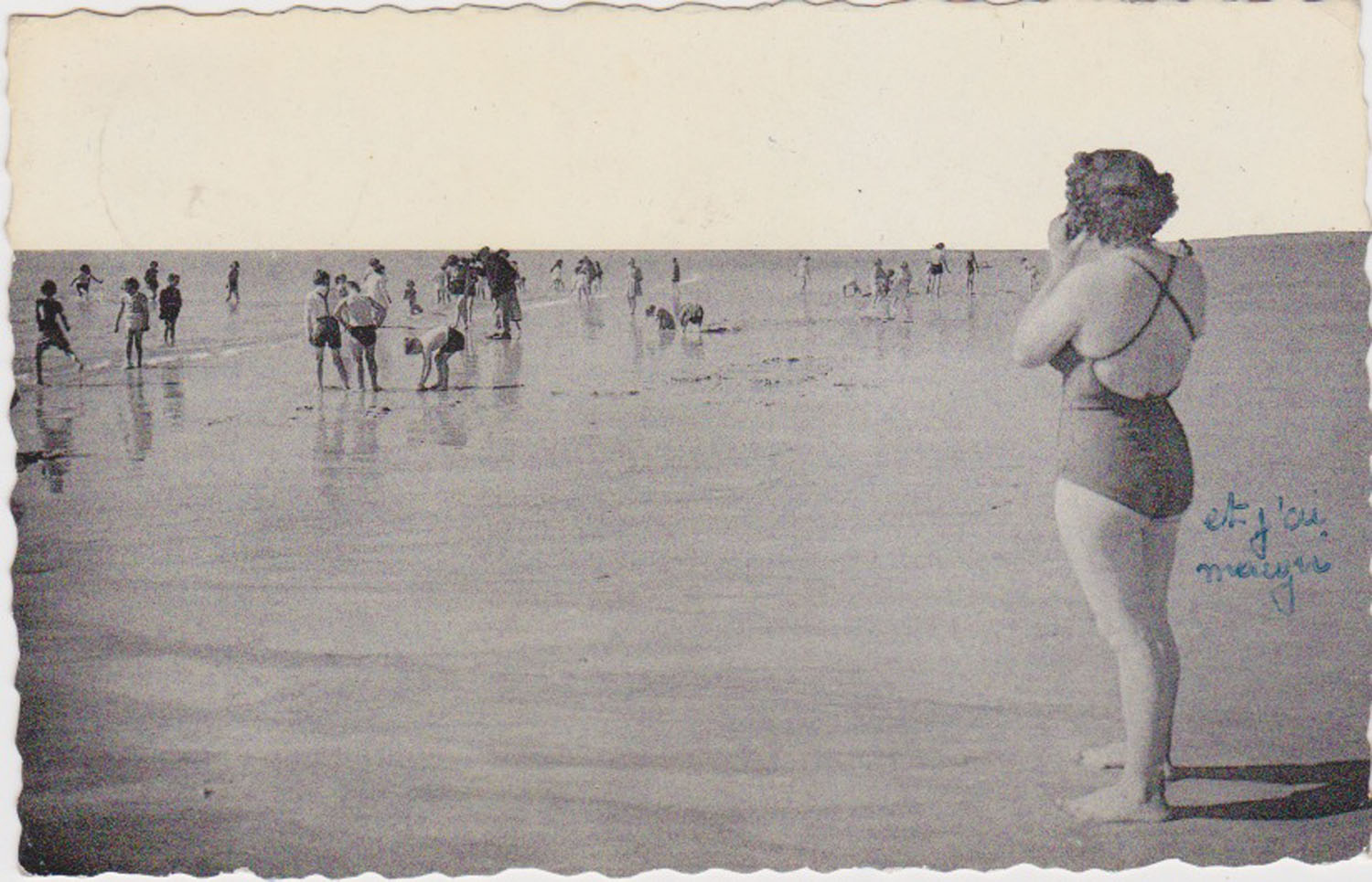 1953 St Martin Plage © collection Jean Claude Ferret