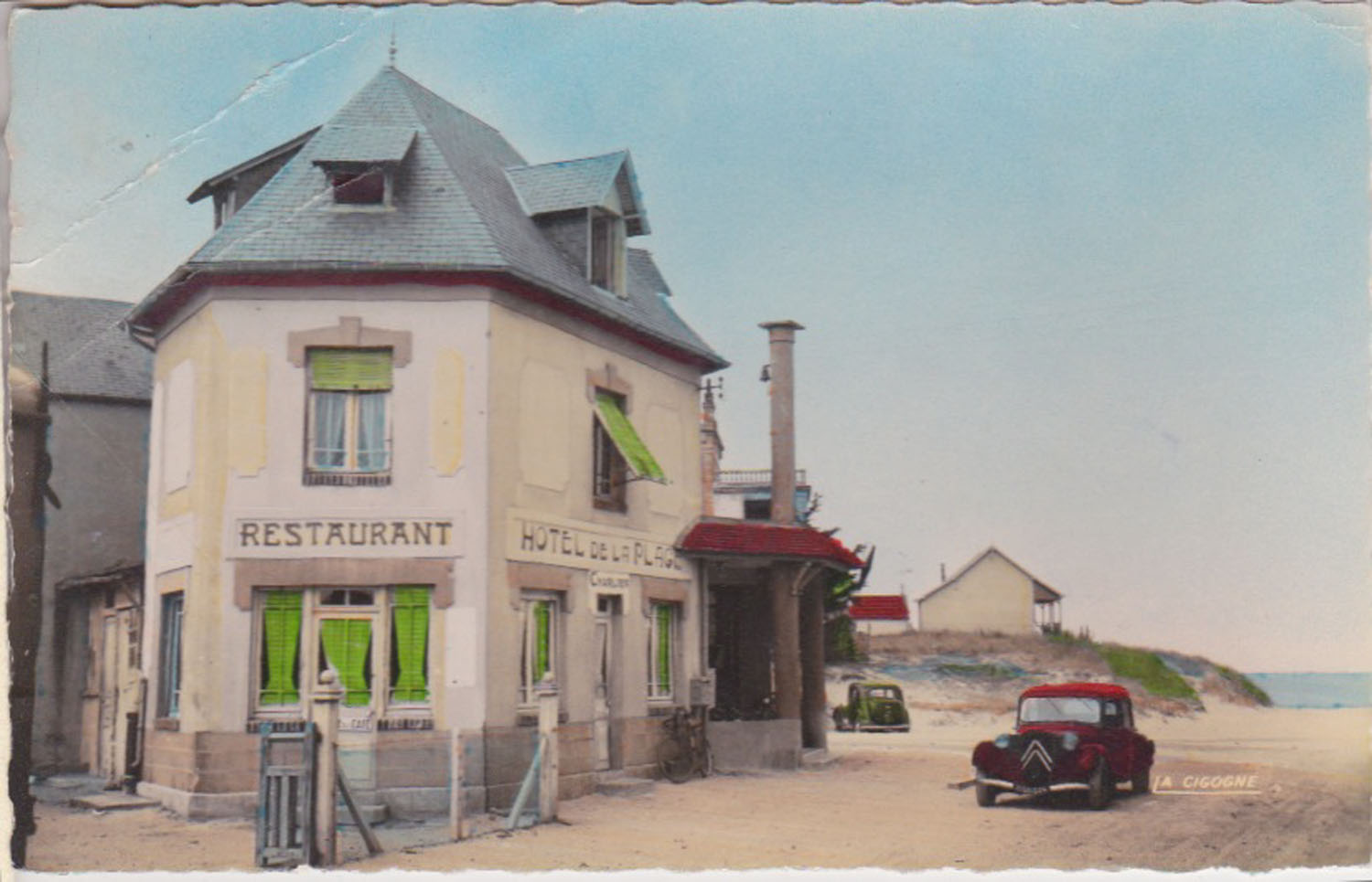 1954 St Martin Carrefour central 2 © collection Jean Claude Ferret