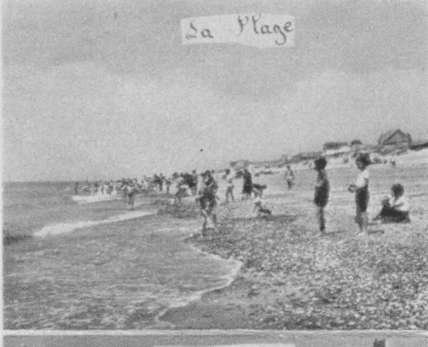 "1955 St Martin Dépliant ""Soulevez le rocher"" - La plage 3 © collection Jean (...)"