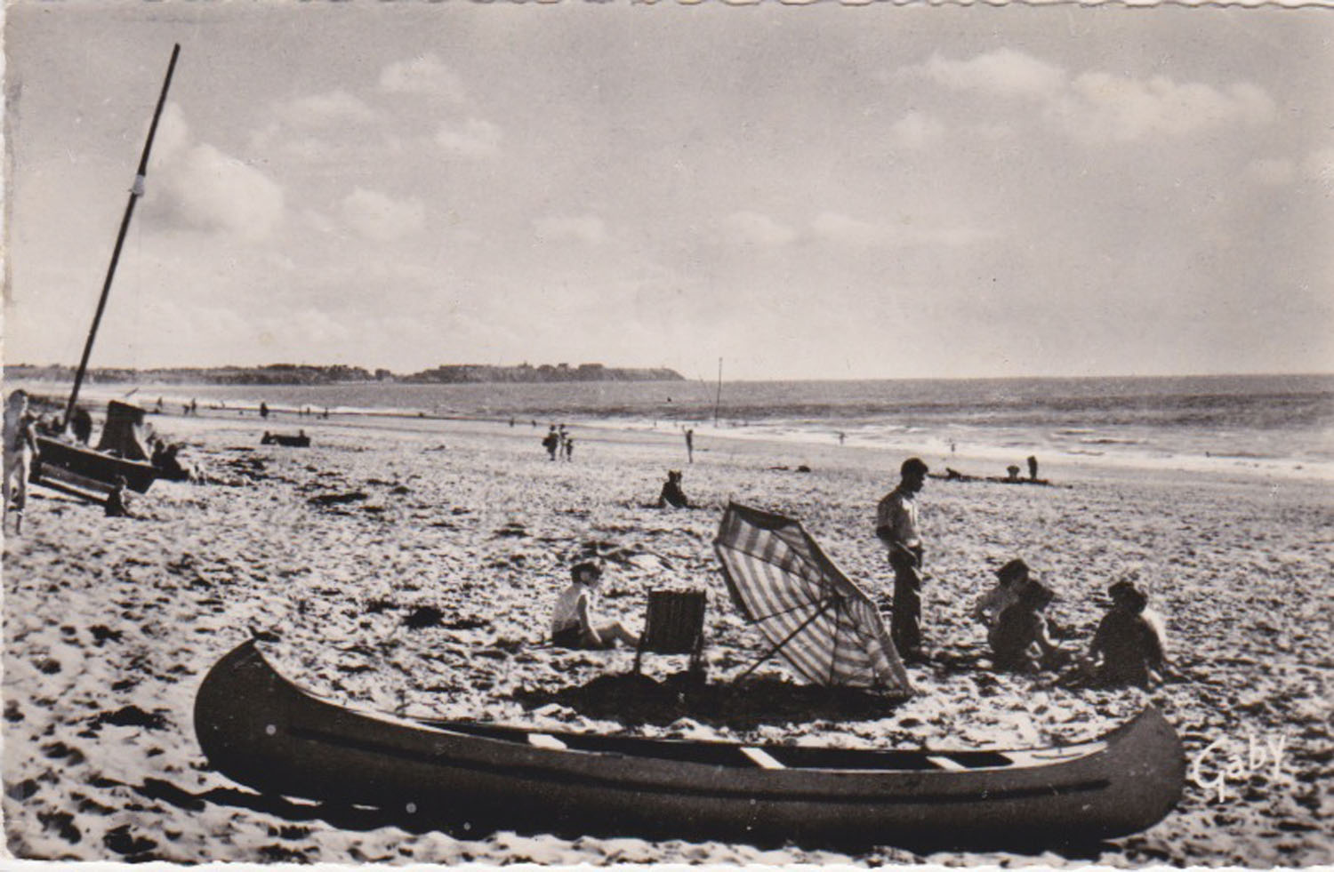 1957 St Martin Plage © collection Jean Claude Ferret