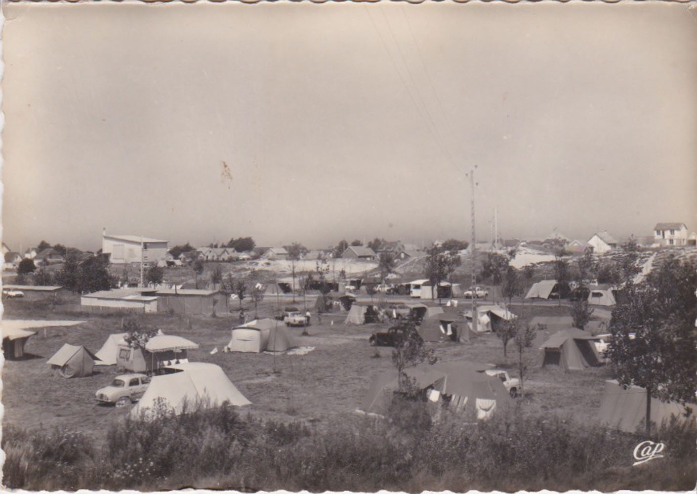 1960 St Martin Sites Camping © collection Jean Claude Ferret