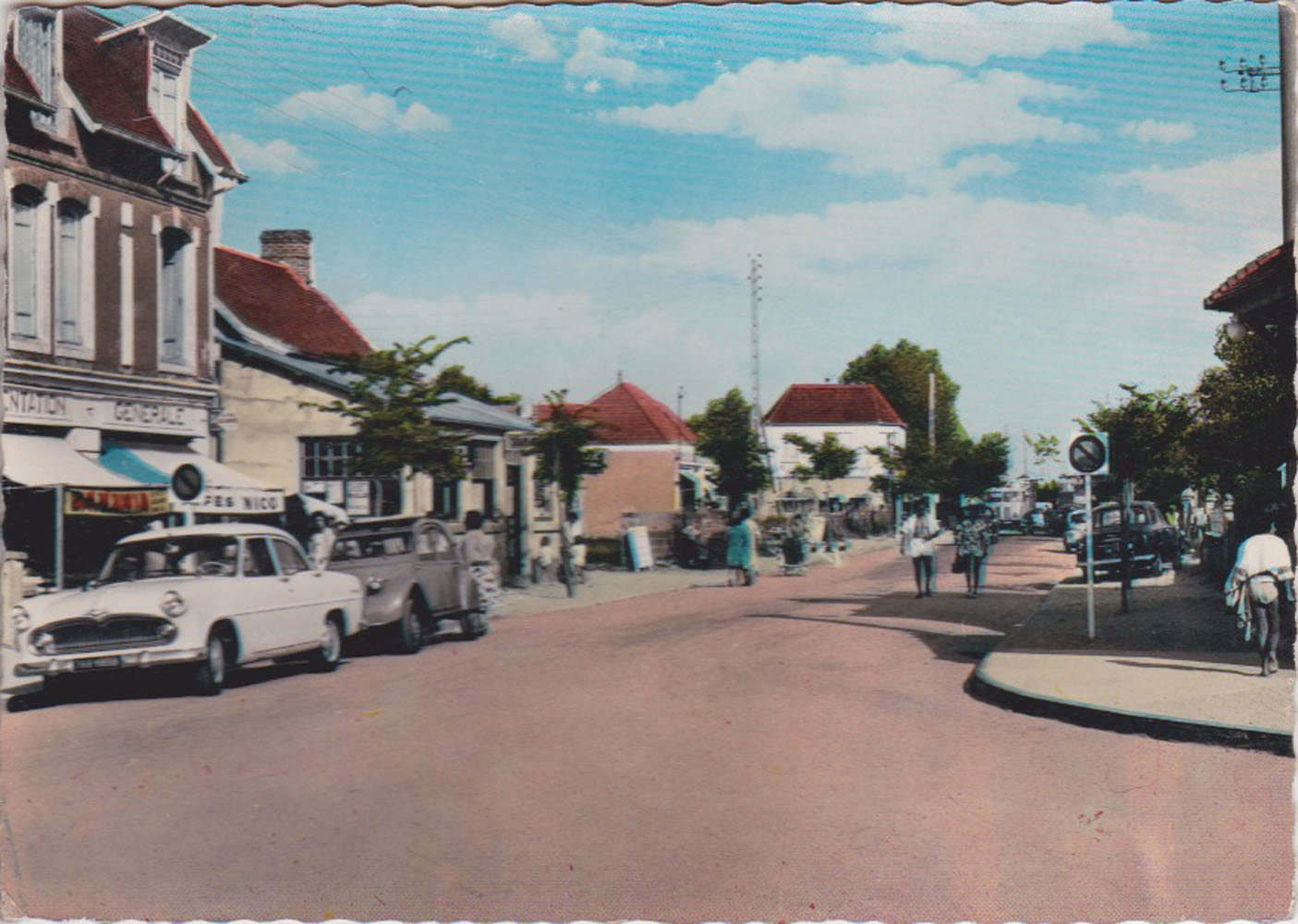 1960 St Martin Carrefour Central © collection Jean Claude Ferret