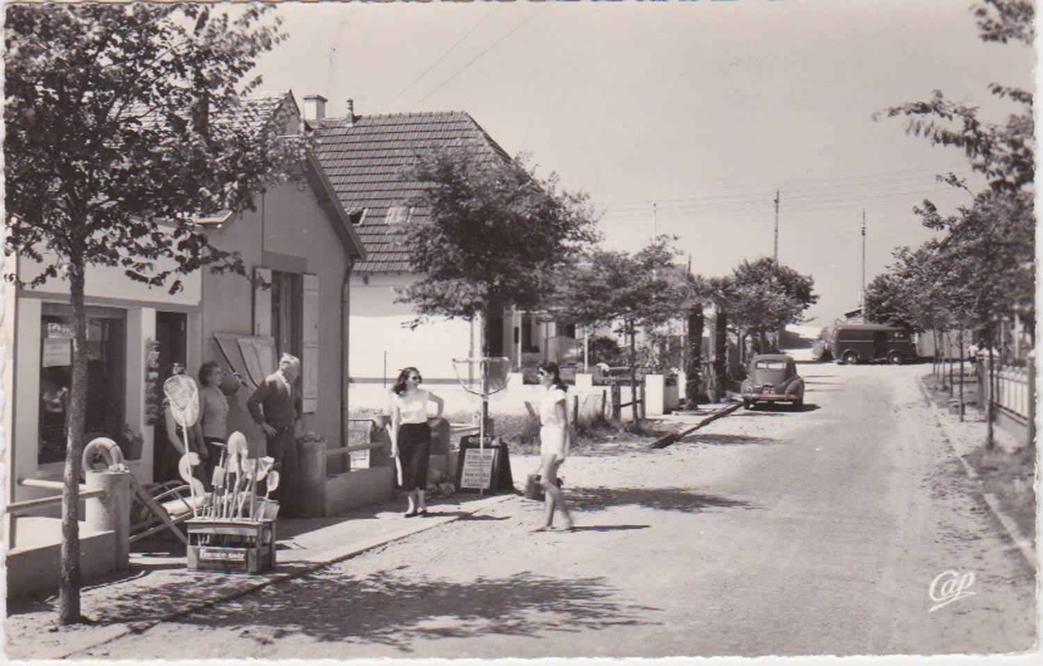 1961 St Martin Rues Rue des iles Chausey Le Floride © collection Jean Claude (...)