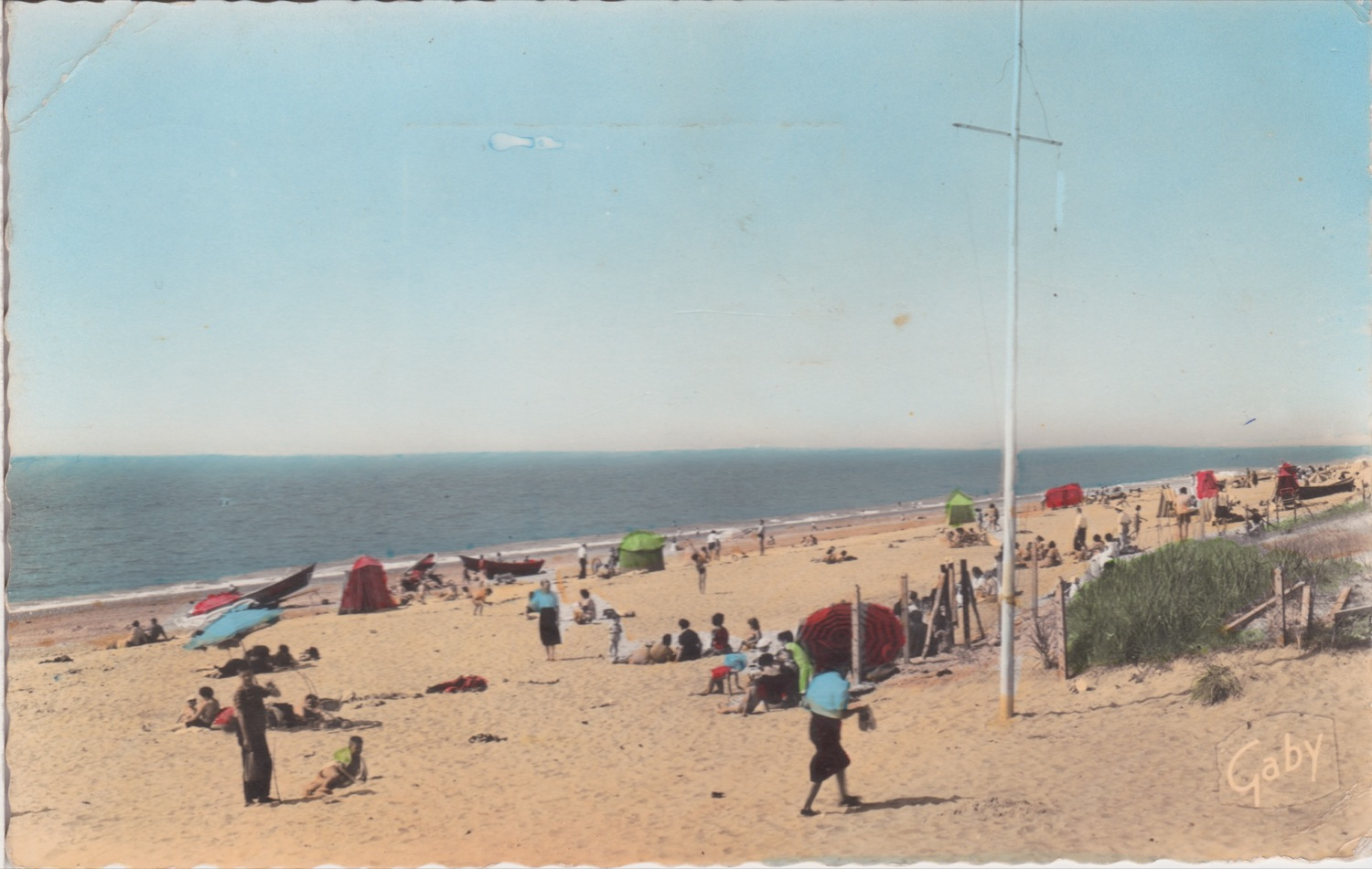 1963 St Martin Plage © collection Jean Claude Ferret