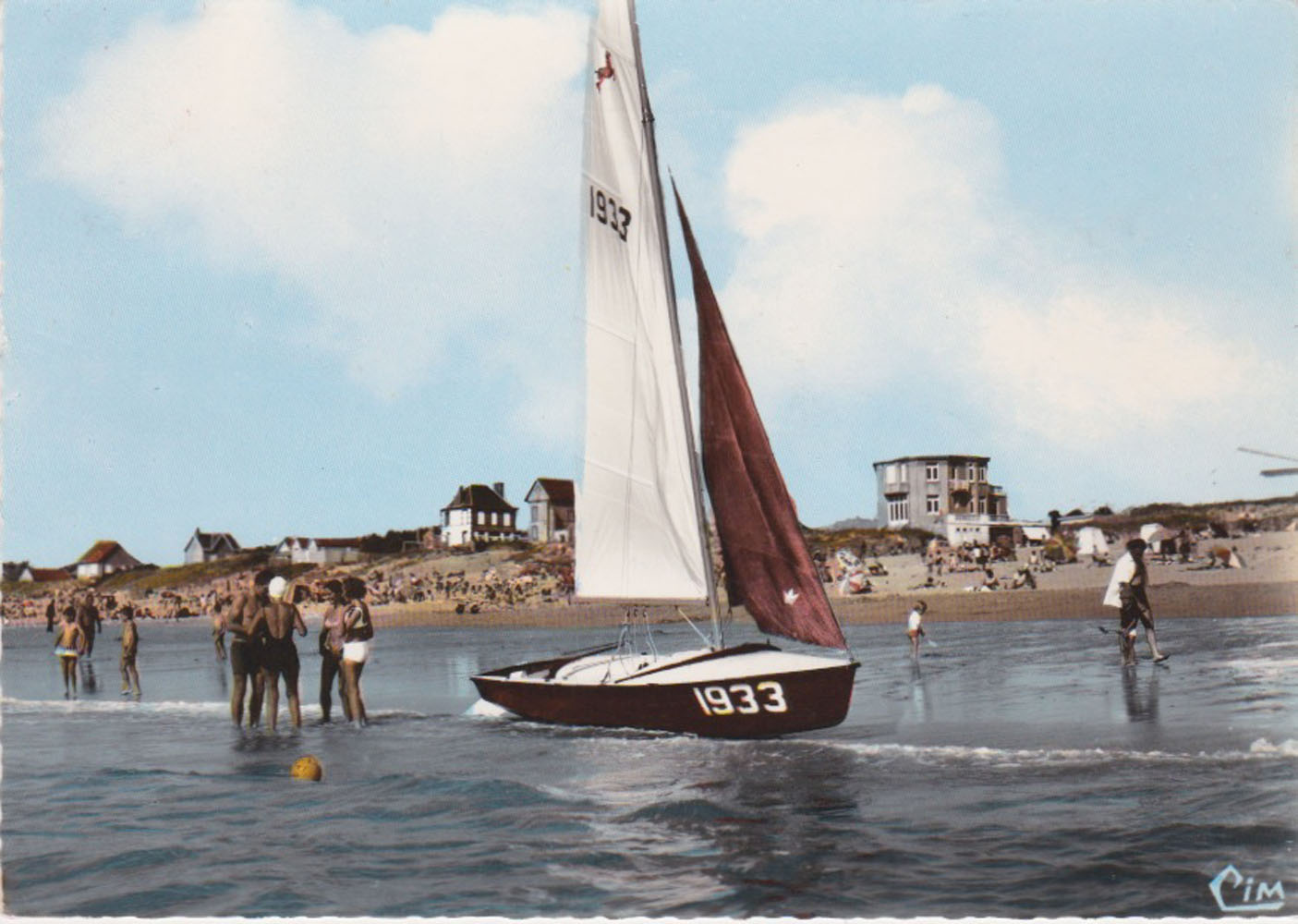 1968 St Martin Plage 3 © collection Jean Claude Ferret