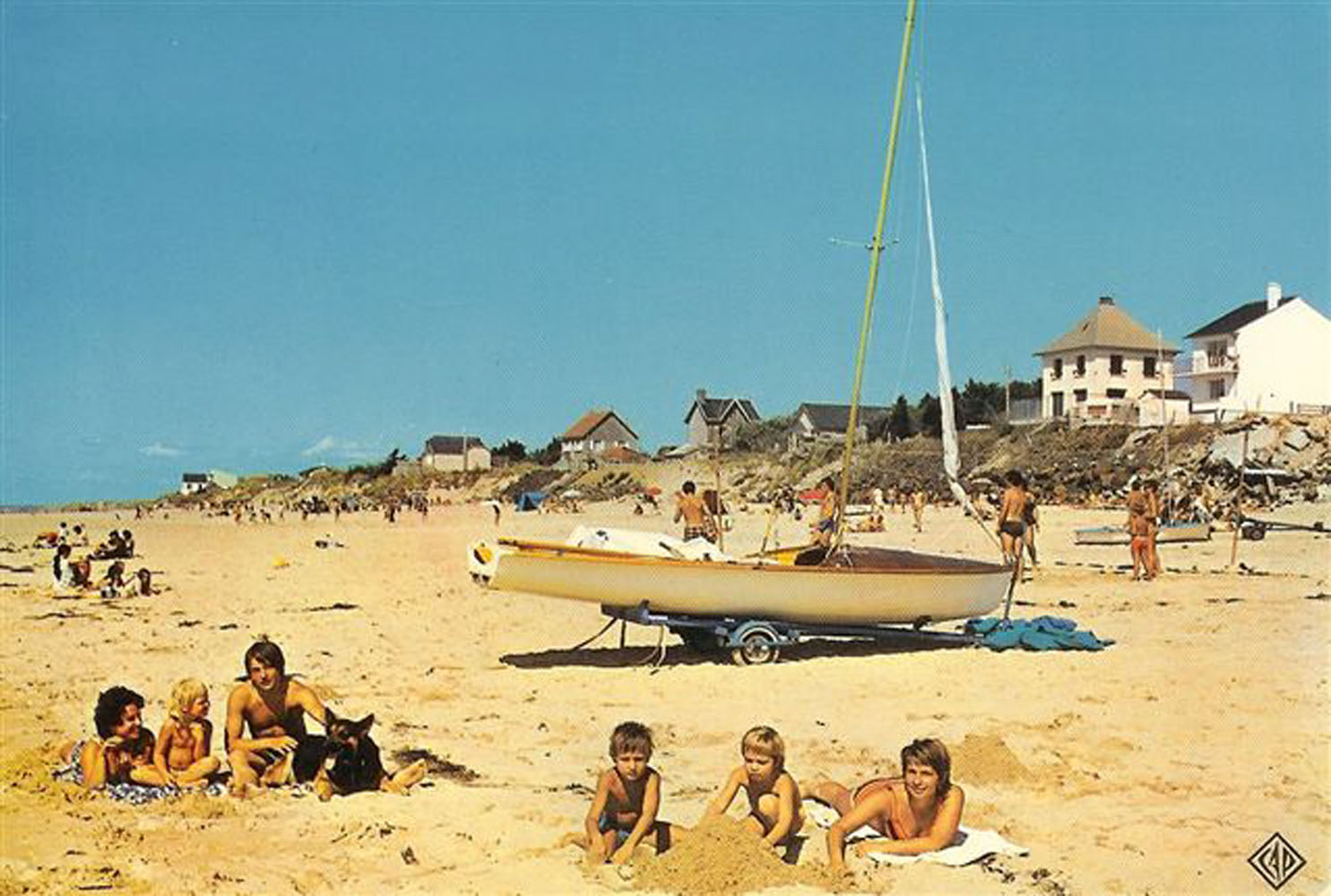 1970 St Martin Plage 2 © collection Michel Soulima