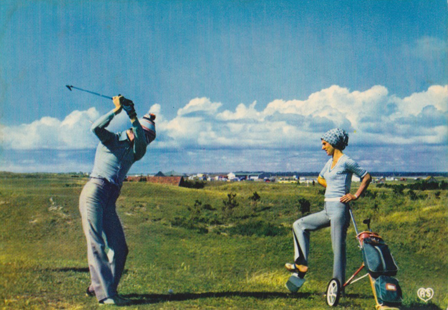 1970 Activités Sites Golf © collection Jean Claude Ferret