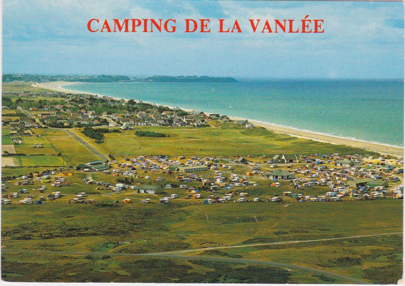 1972 St Martin Vue aérienne Camping Vanlée 2 © collection Jean Claude (...)
