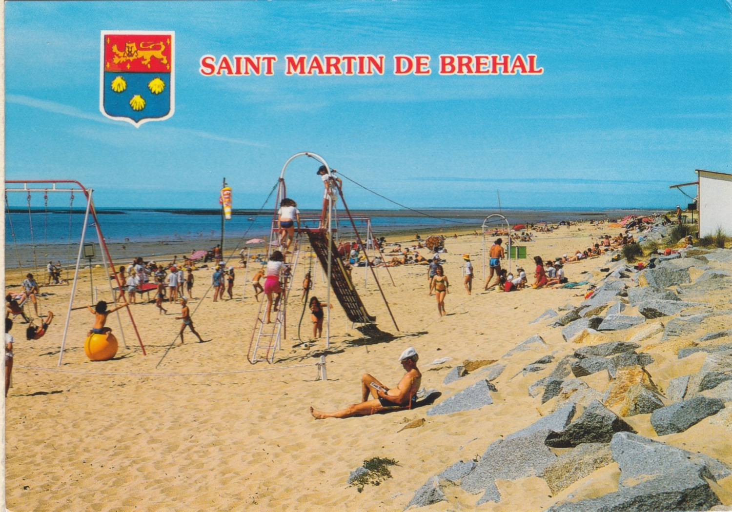1974 St Martin Plage 6 © collection Jean Claude Ferret