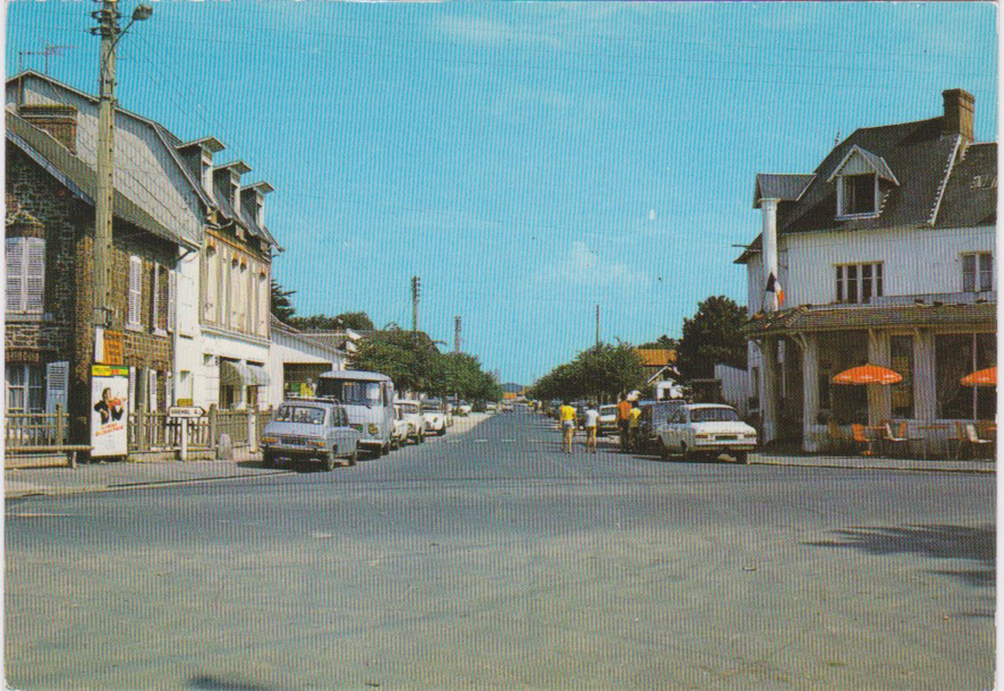 1974 St Martin Carrefour Central © collection Jean Claude Ferret