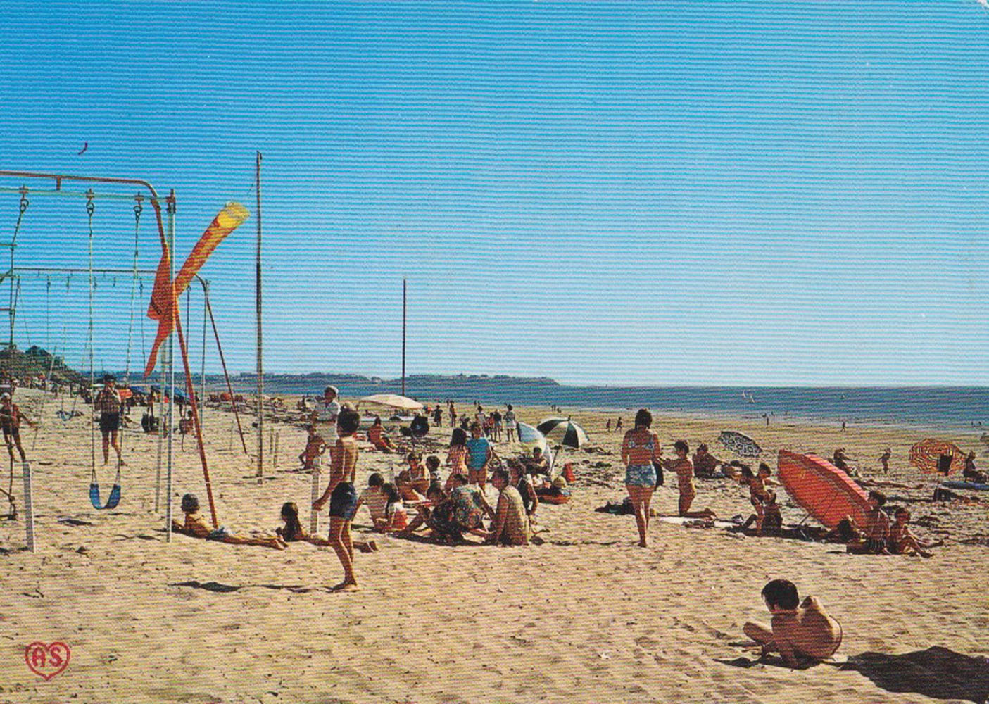 1974 St Martin Plage 1 © collection Jean Claude Ferret