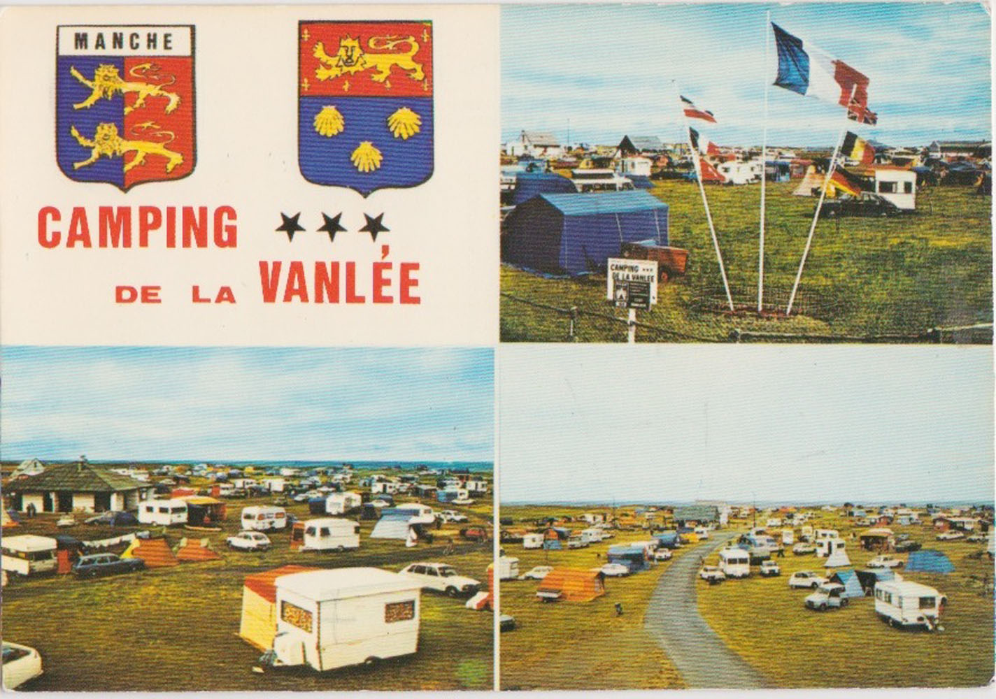 "1977 St Martin Multivues ""Camping Vanlée"" Artaud 43 © collection Jean Claude (...)"