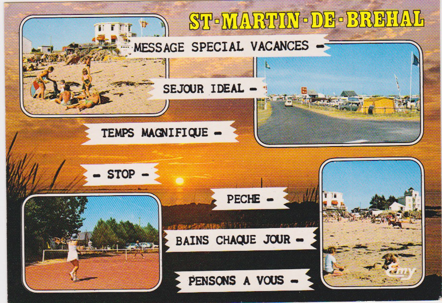 1990 St Martin Multivues Le Goubey 12515 © collection Jean Claude (...)